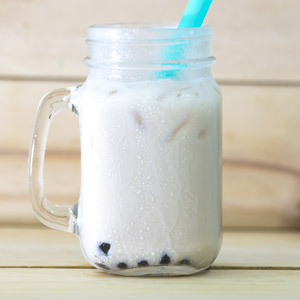Coconut boba Drink