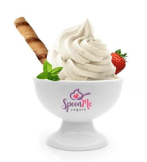 Cholocate frozen yogurt