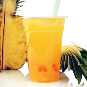 pineapple boba Drink